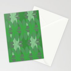 green dragonflies Stationery Cards