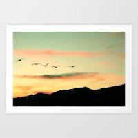 Flightless Birds Art Print