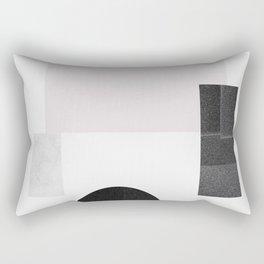Black ball Rectangular Pillow