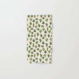 Cacti parade Hand & Bath Towel