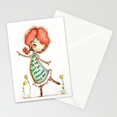 The Way You Move by Diane Duda Stationery Cards