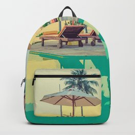 Summer By The Pool Backpack