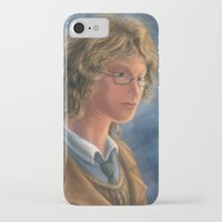 good omens iPhone & iPod Cases featuring Good Omens: Aziraphale by Katerina Romanova