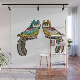 facing together Wall Mural