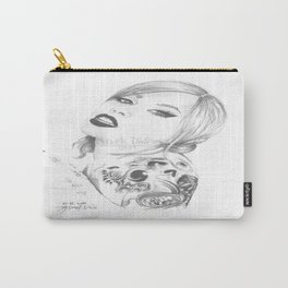 Metal chick Carry-All Pouch