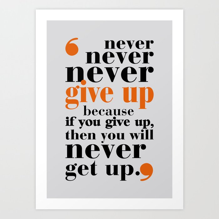 lab no never give up in your life gym motivational quotes