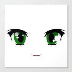 Anime face Canvas Print