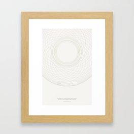 the worship of reason Framed Art Print