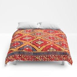 Zili  Antique Turkish Fethiye Flatweave Print Comforters