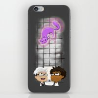 bathroom iPhone & iPod Skins featuring Bathroom (Gray) by Fishfranqz