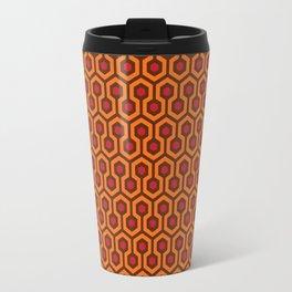The Overlook Hotel Carpet Travel Mug