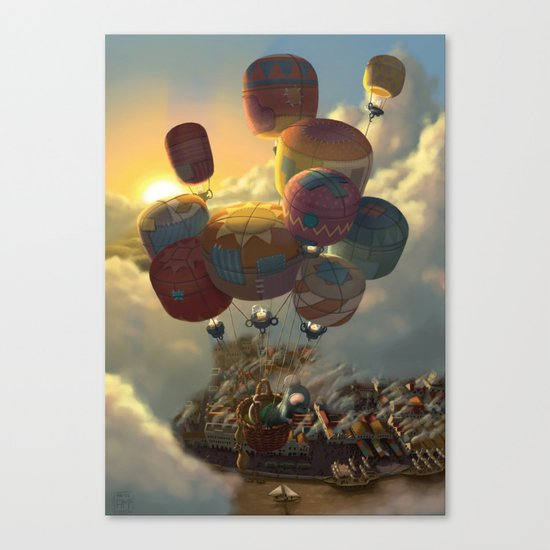 Way Up High Canvas Print