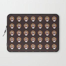 Happy Beagle Dog Laptop Sleeve