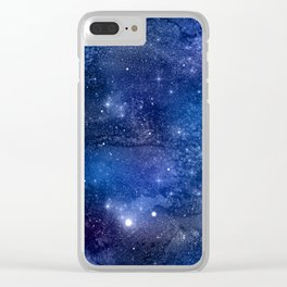 Exploring the Universe 16 Clear iPhone Case
