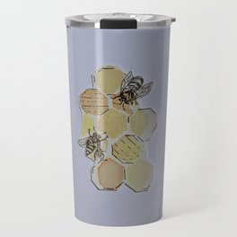 We Were Always Meant to Bee Travel Mug