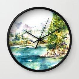Sierra Peridot Wall Clock