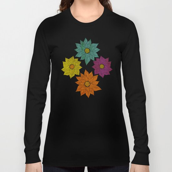 Color Me Floral Long Sleeve T-shirt