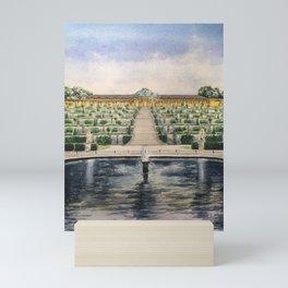 Sanssouci palace Mini Art Print