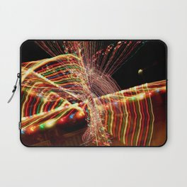 Abstract Xmas Lights Sculpting Laptop Sleeve