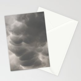 Mammatus Clouds 1 Stationery Cards