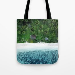 Tropical Beach Vibes Tote Bag