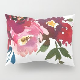 Falling Flowers Pillow Sham