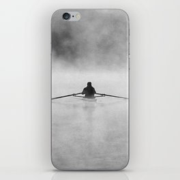 Rowing On The Chattahoochee iPhone Skin