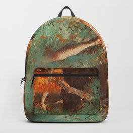The Green Dancer 1879 By Edgar Degas | Reproduction | Famous French Painter Backpack