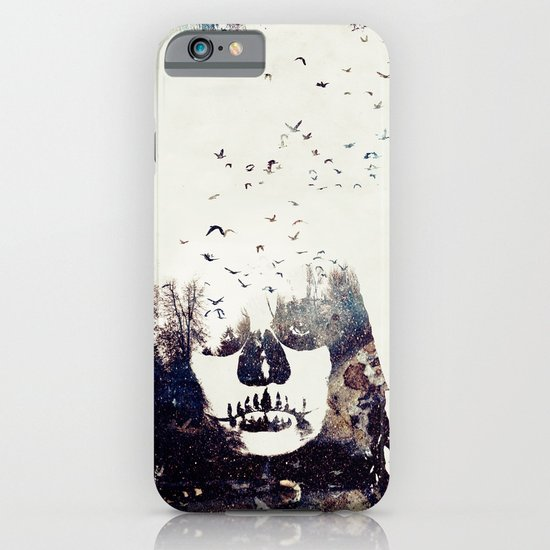 Tousled bird mad girl iPhone & iPod Case