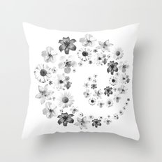 for luck:) Throw Pillow