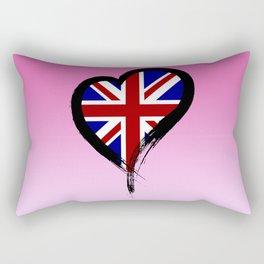 Heart Nation 02 Rectangular Pillow