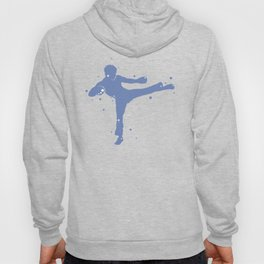 Karate Kick Silhouette Hoody
