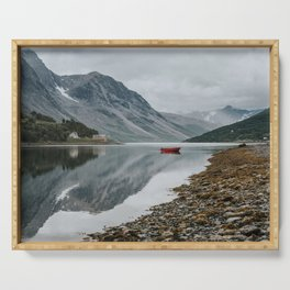Norway I - Landscape and Nature Photography Serving Tray
