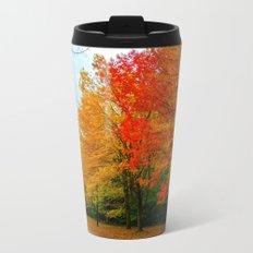 Autumn Metal Travel Mug