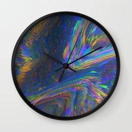 Glitch Background 08 Wall Clock