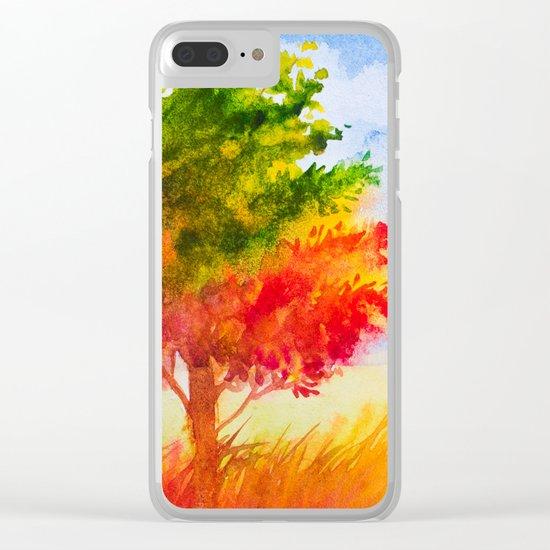 Autumn scenery #9 Clear iPhone Case