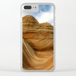 The Wave-Paria Wilderness Clear iPhone Case