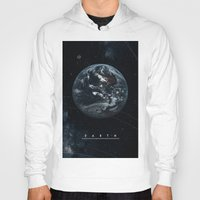 earth Hoodies featuring EARTH  by Alexander Pohl