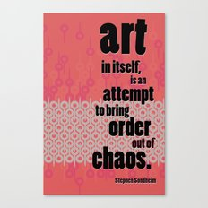Quote 1 Canvas Print