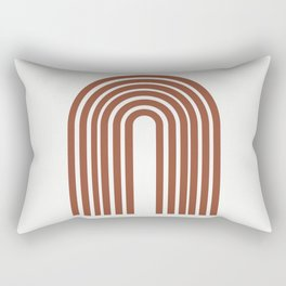 ARCOBALENO - OVER THE RAINBOW - Modern abstract art Rectangular Pillow