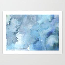 blue#2 Art Print