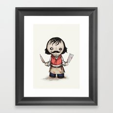 The Butcher Framed Art Print