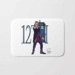 12th Doctor Bath Mat