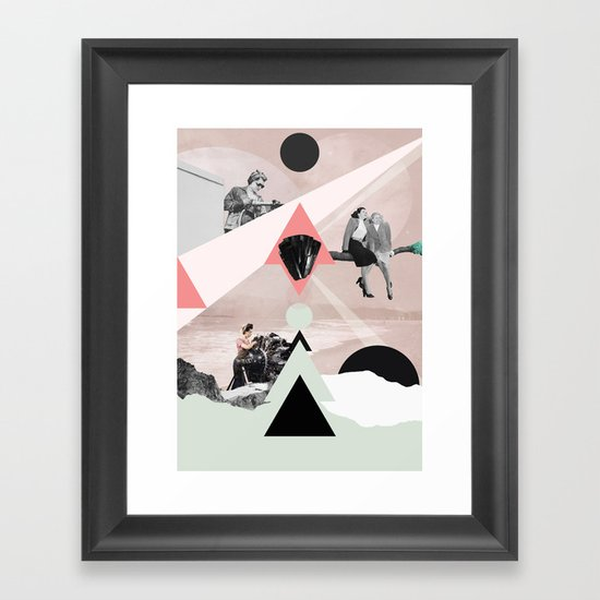 Amphibolite Framed Art Print