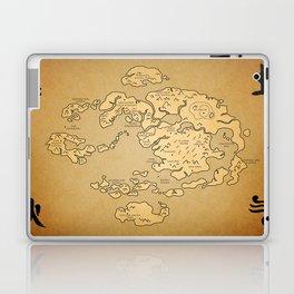 Avatar Last Airbender Map Laptop & iPad Skin