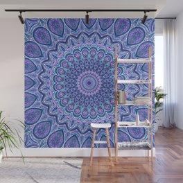 Purple Passion - Mandala Art Wall Mural