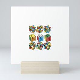 RUBIK SKILLS Mini Art Print