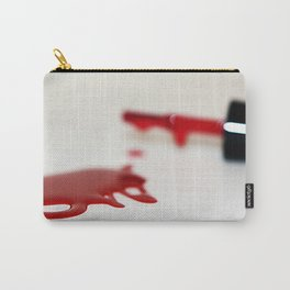 Spilled Nail Polish fine art photography Carry-All Pouch