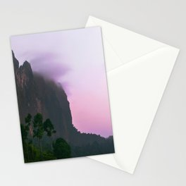 Little purple cloud resting on the rock  Stationery Cards