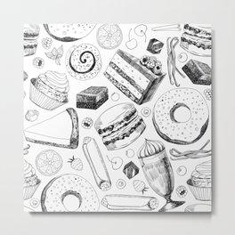 Delicious pattern Metal Print